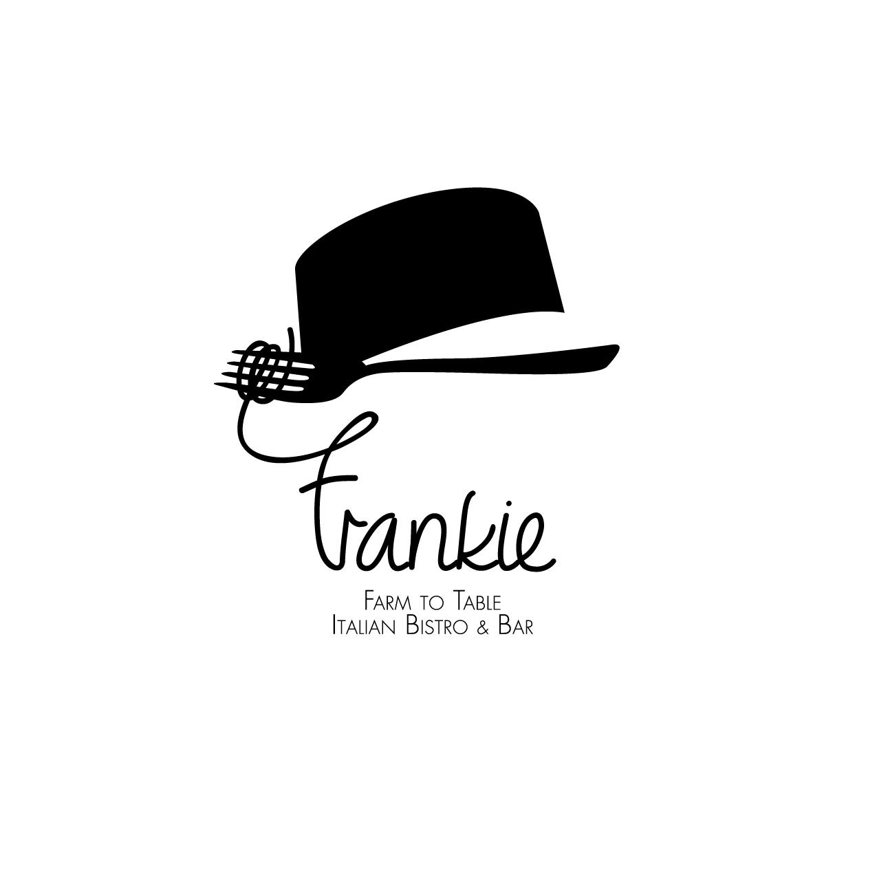 Frankie Restaurant Brand Identity A3 Resizing Ideas